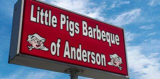 Little Pigs Barbeque of Anderson