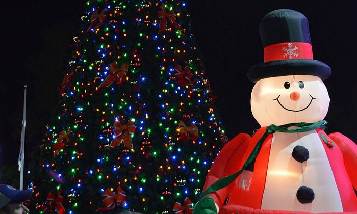 City of North Myrtle Beach Christmas Tree Lighting