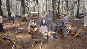 Re-enactment of the Battle of Parker's Ferry