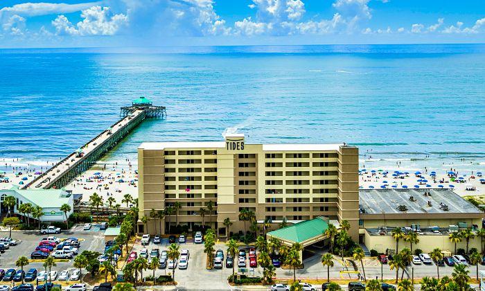 Tides Hotel on Folly Beach