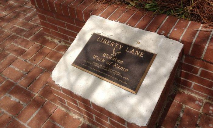 Liberty Lane Walk Of Fame