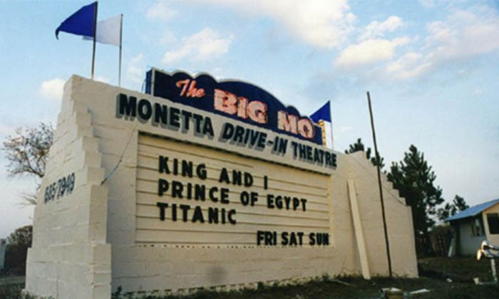 The Big Mo - Monetta Drive-In Theatre