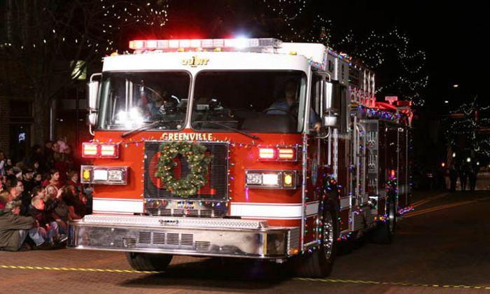 Greenville Poinsettia Christmas Parade