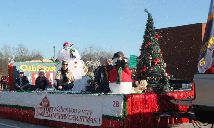 Greenwood Christmas Parade