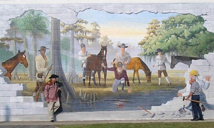 Swamp Fox Murals Trail