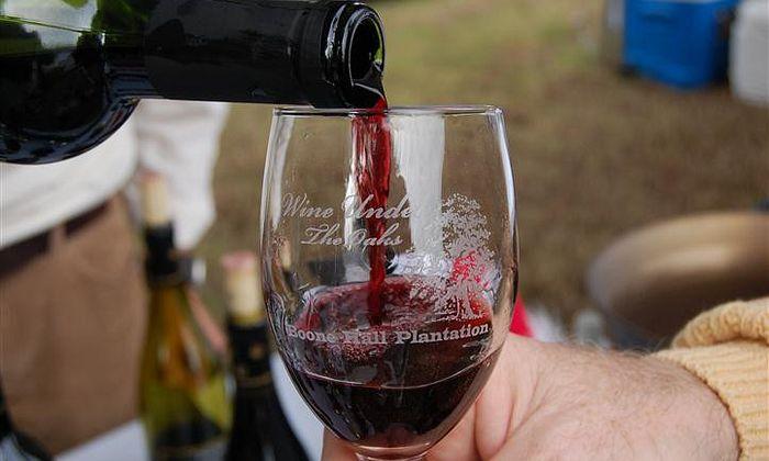 Wine Under the Oaks